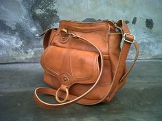 Beautiful leather bag by BALIETHNIQU, $122.50