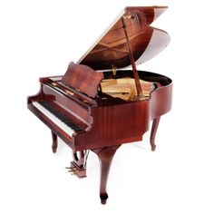 """Petrof 159 Bora Demi Chippendale - Although the P 159 (5'2"""") is the smallest model of the new generation Petrof grand pianos, it still possesses the characteristic warm European tone for which Petrof are rightly renowned. All Petrof grands feature a high quality, solid spruce soundboard.  #MakinPianos  Passionate about Pianos since 1931"""