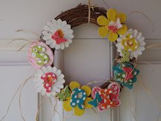 the chick n coop: Spring Salt Dough Wreath