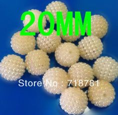 Cheap ball bead, Buy Quality bead jewelry directly from China bead colors Suppliers: 2013 Newest chunky jewelry fittings loose round berry acrylic beads:1.Size:20MM2.Color:White AB3.Tech:Berry acrylic bead