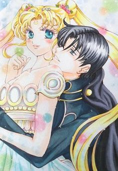 Princess serenity and prince edynimon Sailor Moon Manga, Sailor Moons, Sailor Moon Crystal, Sailor Pluto, Sailor Moon Art, Sailor Moon Background, Sailor Moon Wallpaper, Neo Queen Serenity, Princess Serenity