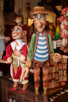 Czech Marrionettes by Frau Chrissie, via Flickr