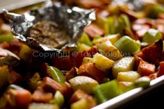 Roasted Vegetables With Roasted Garlic