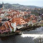Cesky Krumlov - Czech Republic.  Its Old Town is a UNESCO-designated World Heritage site.