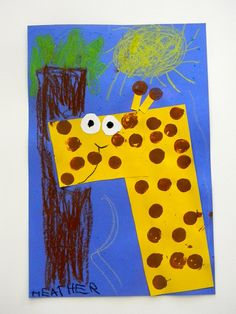 just organizing my stuff from last year...G is for GIRAFFE