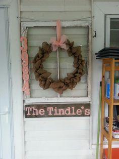 Old window crafts