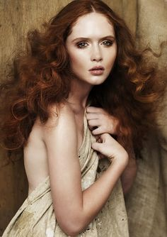 Hair by Marie Uva, shot by Andrew O'Toole