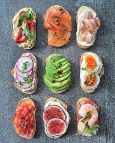 39 Quick Healthy Breakfast Ideas & Recipe for Busy Mornings Quick Healthy Breakfast, Healthy Snacks, Breakfast Recipes, Healthy Recipes, Breakfast Ideas, Breakfast Toast, Diet Breakfast, Food Platters, Appetizer Recipes