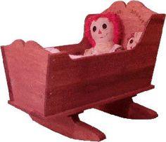 Baby Cradle Woodworking Plan
