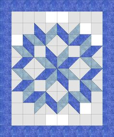 Gallery For > Easy Star Quilt Pattern