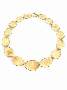 Marco Bicego Lunaria 18K Yellow Gold Necklace #mothersday #yes