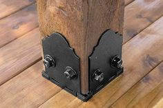 Building Products: Black-tie affair wood ties from the TOH Top 100 Best New Home Products 2013