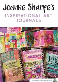 Joanne Sharpe's Inspirational Art Journals DVD | NorthLightShop.com
