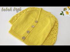 Knitted Baby Cardigan, Knitted Baby Clothes, Baby Sweaters, Baby Knitting, Crochet Bikini, Cross Stitch, Youtube, Bikinis, Babys