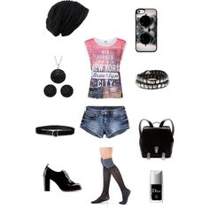 """Rebel look"" by besyata on Polyvore"
