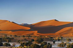 Undoubtedly amongst the most famous desert landmarks in Namibia is Dune 7, one of the highest crests in the dune belt along the coast. Description from namibiatourismexpo.wordpress.com. I searched for this on bing.com/images