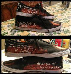 Women's Black Veil Brides Shoes - Polyvore