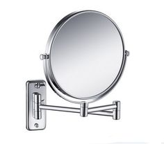 31.05$  Watch now - http://aliesc.shopchina.info/go.php?t=1971425947 - Free Shipping 8' double side antique bathroom mirror, 3x magnification copper wall mounted makeup mirror BM001  #SHOPPING