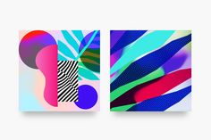 Pattern Soup App wallpapers for Ultra Lab by Alain & Laurent Vonck of L'Atelier Irradié — #UI #WebDesign