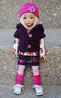 Maybe I can make a similar outfit for AG dolls...