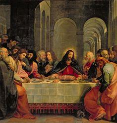 52 best warner sallman images on pinterest jesus christ christ mormon last supper carducci stopboris Gallery