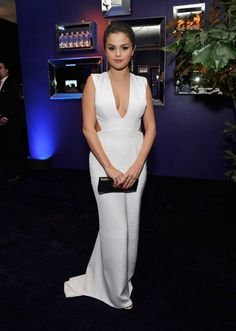 Selena Gomez Photos: InStyle and Warner Bros. Golden Globes Party