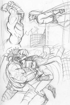 Sentry vs. Hulk
