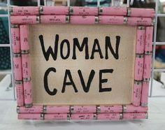 Shotgun Shell Woman Cave Sign by ReadyAimCraft on Etsy https://www.etsy.com/listing/212545975/shotgun-shell-woman-cave-sign