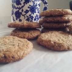 Honey and Chia Cookies - dairy free, grain free, gluten free – The Big Lunchbox Revolution