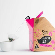 FRAU DOKTOR TEDOX TEEBEUTEL | 5 CUPS and some sugar