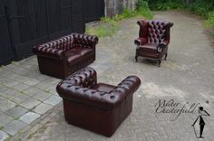 tweedehands-chesterfield-bank-rode-rood