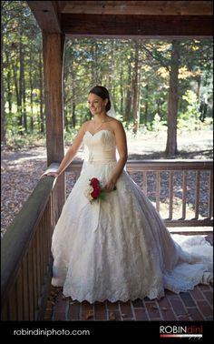 country wedding, christmas tree farm wedding, fall wedding, wedding photography, bridal portrait, lace wedding gown, log cabin porch, woods, outdoor wedding