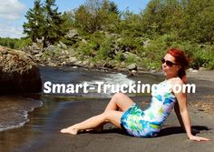 Smart Trucking Pin-Up Girl!