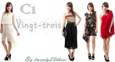 Twentythree's first collection - vingt- trois . All selling at $23 dollars !