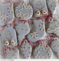 Christmas Ornament Cookies | Cookie Connection na Stylowi.pl
