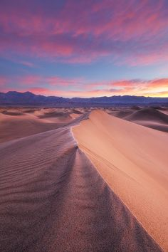 Frosted Dunes, Death Valley National Park, California