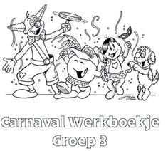Carnaval Werkboekje Groep 3