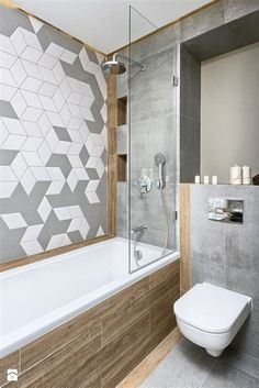 Want a half bathroom that will impress your guests when entertaining? Update your bathroom decor in no time with these affordable, cute half bathroom ideas. Half Bathroom Decor, Bathroom Niche, Small Space Bathroom, Modern Bathroom Design, Bathroom Interior, Master Bathroom, Bathroom Designs, Bathroom Ideas, Small Spaces