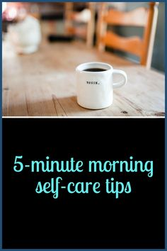 5 Minute Morning Self-Care Tips Mindfulness For Teachers, Me Time, Self Improvement, Self Help, Self Care, Bath And Body, Health Care, Health Fitness, Let It Be