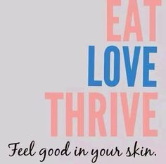 Le-Vel Thrive Experience: Thrive Experience will help you do just that feel GOOD in your skin www.aztinachaffin.le-vel.com