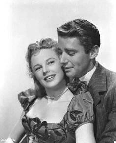 June Allyson and Peter Lawford