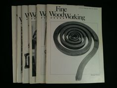 Vintage Fine WoodWorking Magazines Lot 6 1980 Back by RHWTreasures, $29.95