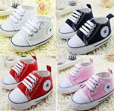Infant Toddler Baby Boy Girl Kid Soft Sole Crib Shoes Sneaker Newborn 0-18Months