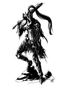 Dark Souls,фэндомы,Artorias The Abysswalker,DS персонажи,DS art