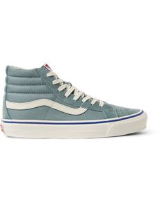 a0edb75ff66 Men s Blue Og Sk8-hi Lx Suede And Canvas High-top Trainers