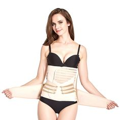 177820f3098 Queenral Postpartum Slimming Abdomen Strap ThreePiece Set Waist Trainer    Want to know more