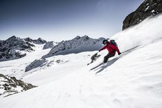 Ein Tiefschneeparadies abseits präparierter Pisten! #DachTirols Winter, Mount Everest, Skiing, Mountains, Nature, Travel, Recovery, Vacation, Summer Recipes