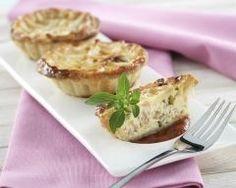 Mini quiches lorraine sans pâte (facile, rapide) - Une recette CuisineAZ