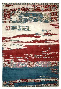 Sartori rugs for Diesel store - Milano