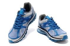 Nike Air Max 2012 Herren Blau Weiß Schwarz